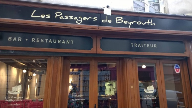 Restaurant Les Passagers de Beyrouth #1 - VinoResto